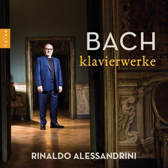 CD cover Alessandrini Bach Klavierwerke