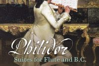 CD cover Philidor Suites for flute