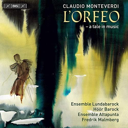 Cover Monteverdi L'Orfeo BIS