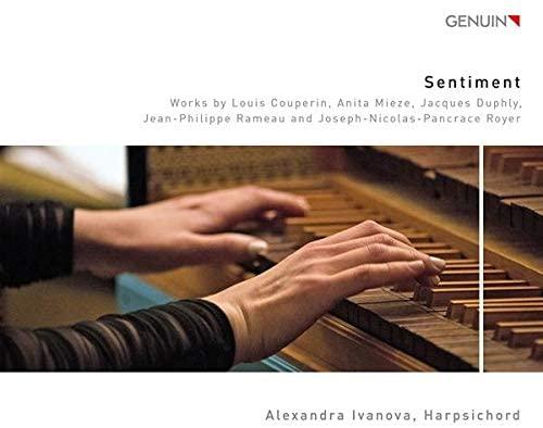 CD cover Alexandra Ivanova Sentiment