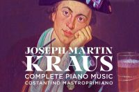 CD cover Krause Complete piano music