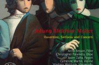 CD cover Molter Ouverture Sinfonia und Concerti Kölner Akademie Willens