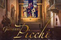 CD cover Picchi complete harpsichord music