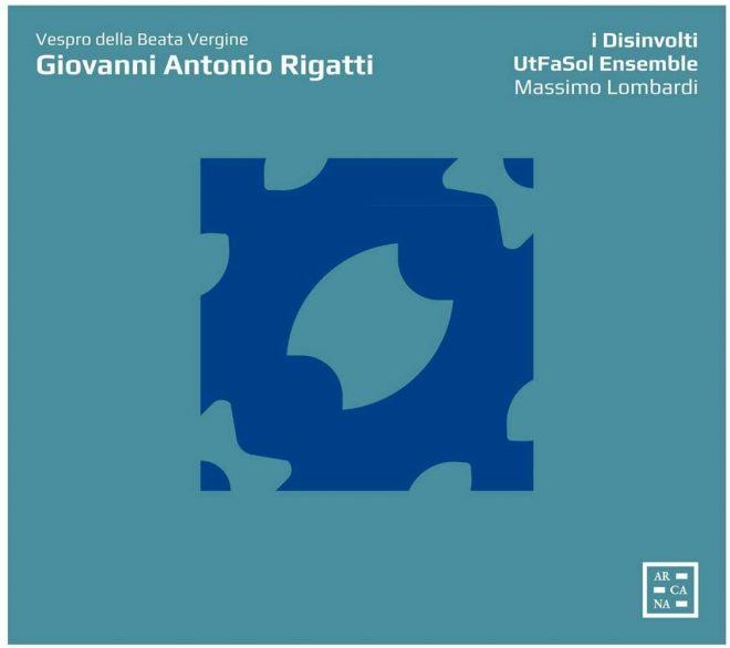 CD cover Rigatti Vespro della Beata Vergine