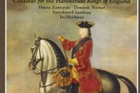CD cover Telemann Cantatas for the Hanoverian Kings of England