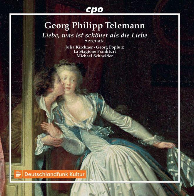 CD cover Telemann Liebe, was ist schöner als die Liebe