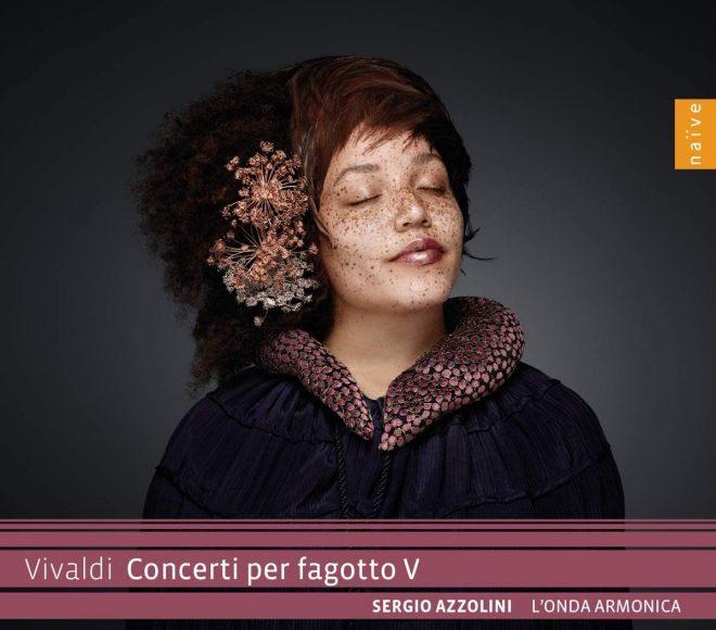 CD cover Vivaldi Concerti per fagotto V Azzolini L'onda armonico