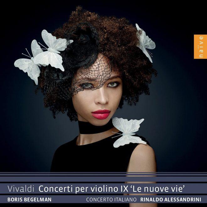 CD cover Vivaldi Concerti per violino IX Le nuove vie Boris Begelmann
