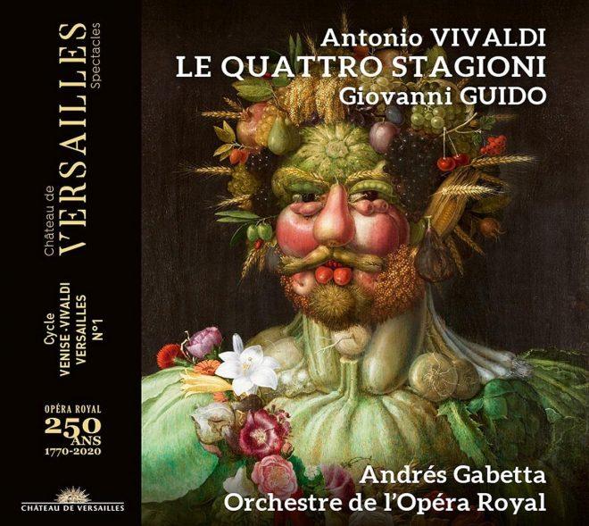 CD cover Vivaldi Guido Le quattro stagioni Andres Gabetta