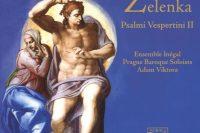 CD cover Zelenka Psalmi Vespertini II Ensemble Inégal Adam Viktora