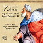 CD cover Zelenka Psalmi Vespertini III