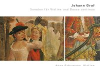CD cover Graf Violin sonatas Genuin Anne Schumann